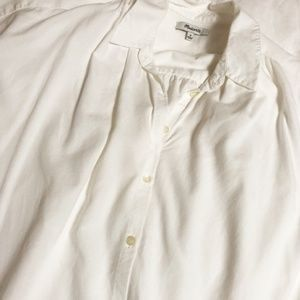 Madewell Tops - Central Shirt is Pure White